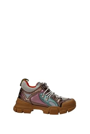 Gucci Sneakers Women Leather Multicolor
