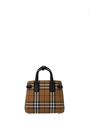 Burberry Handbags Women Fabric  Beige