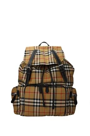 Burberry Backpack and bumbags Men Nylon Beige
