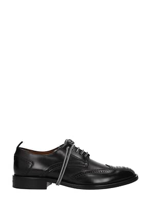 Givenchy Lace up and Monkstrap Men Leather Black