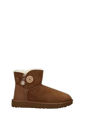 Stiefeletten UGG button ii Damen