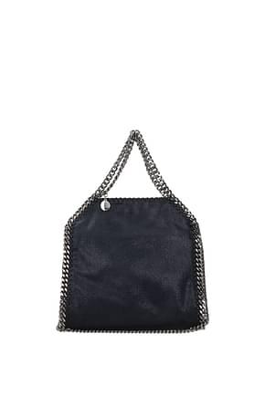 Stella McCartney Handbags falabella mini Women Eco Suede Blue Dark Blue