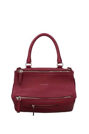 Givenchy Handbags pandora Women Leather Fuchsia