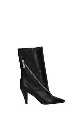 Givenchy Bottines botte show Femme Cuir Noir