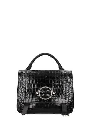 Jw Anderson Handbags satchel Women Leather Black