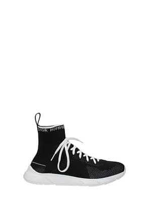 Christian Dior Sneakers Men Fabric  Black