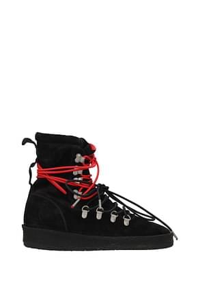 Represent Ankle Boot Men Suede Black