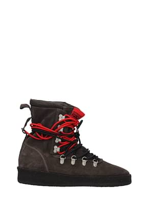 Represent Ankle Boot Men Suede Gray