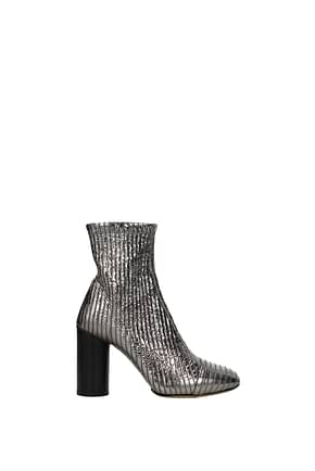 Isabel Marant Ankle boots Women Leather Silver