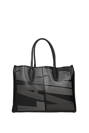 Lanvin Handbags Women Leather Black