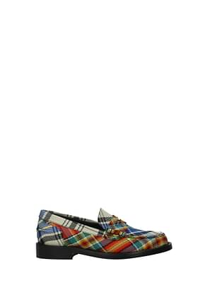 Burberry Loafers Women Fabric  Multicolor
