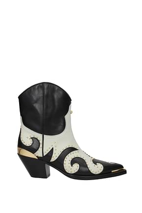 Fausto Puglisi Ankle boots Women Leather Black