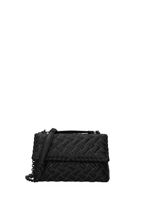 Bottega Veneta Shoulder bags olimpia Women Leather Black