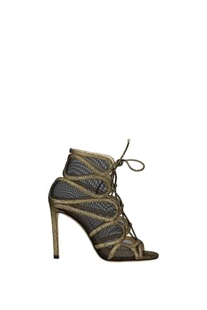 Jimmy Choo Sandals malena Women Leather Gold