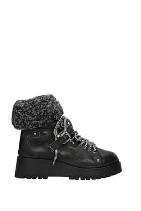 Miu Miu Ankle boots Women Leather Black