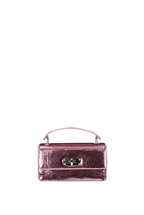 Miu Miu Handbags Women Sequins Pink