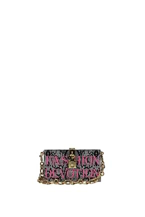 Dolce&Gabbana Clutches Women Resin Gray