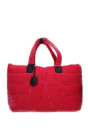 Moncler Shoulder bags powder Women Fabric  Fuchsia
