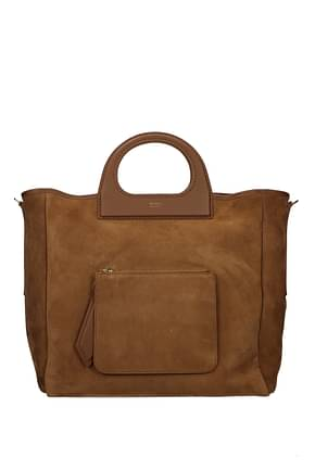 Max Mara Handbags grac11s Women Suede Brown