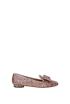 Salvatore Ferragamo Loafers sarno Women Glitter Multicolor