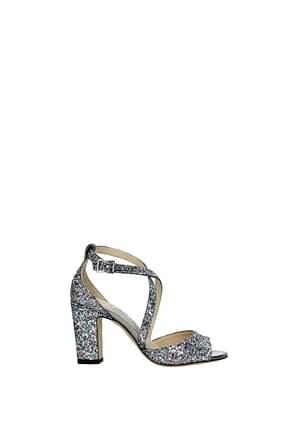 Jimmy Choo Sandals carrie Women Glitter Multicolor