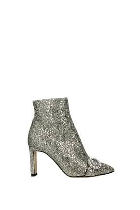 Jimmy Choo Ankle boots hanover Women Glitter Gold