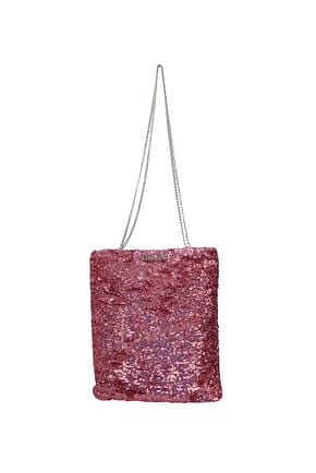 Miu Miu Shoulder bags Women Sequins Pink