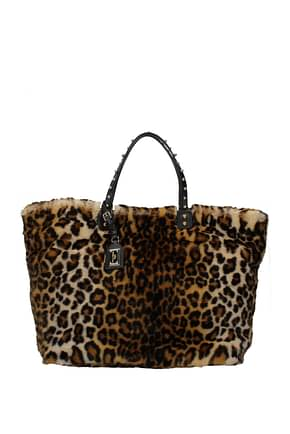 Dolce&Gabbana Handbags beatrice Women Eco Fur Brown