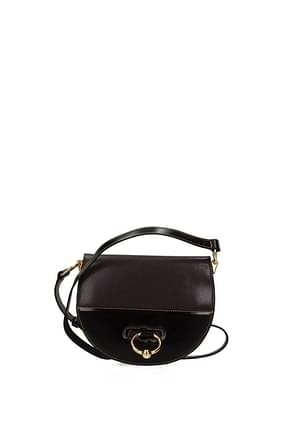 Jw Anderson Crossbody Bag Women Leather Violet