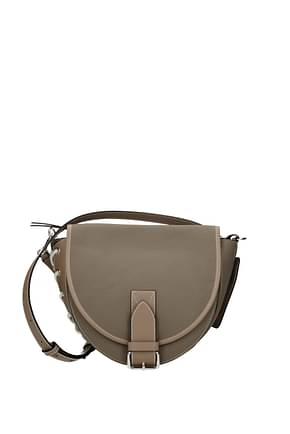 Jw Anderson Crossbody Bag Women Leather Beige