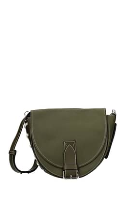 Jw Anderson Crossbody Bag Women Leather Green