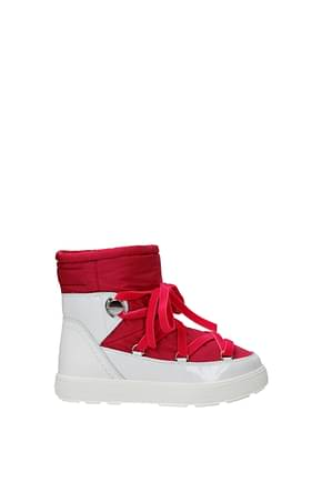 Moncler Ankle boots stephanie Women Fabric  Fuchsia