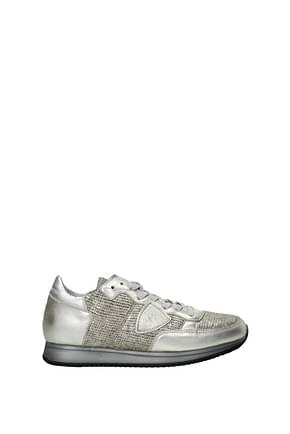 Philippe Model Sneakers tropez Mujer Piel Oro