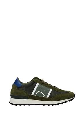 Philippe Model Sneakers toujours Herren Wildleder Grün