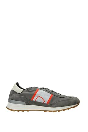 Philippe Model Sneakers toujours Men Suede Gray