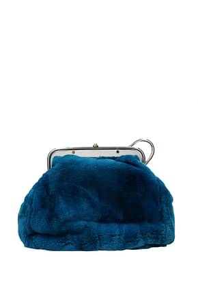 Marni Handbags Women Rabbit Blue