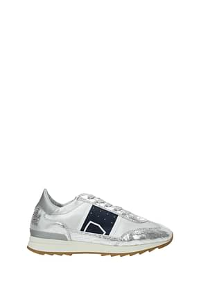 Philippe Model Sneakers toujours Women Leather Silver