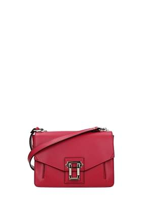 Proenza Schouler Crossbody Bag Women Leather Fuchsia