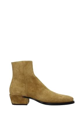 Givenchy Ankle Boot dallas Men Suede Brown