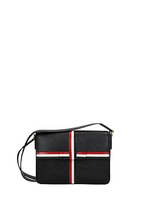 Thom Browne Crossbody Bag Women Leather Black