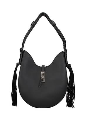 Altuzarra Shoulder bags ghianda hobo Women Leather Black