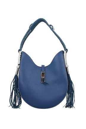 Altuzarra Shoulder bags ghianda hobo Women Leather Blue