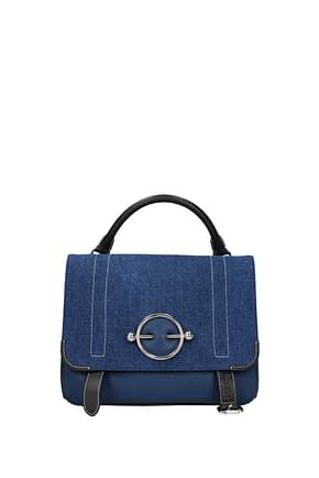 Jw Anderson Handbags Women Leather Blue