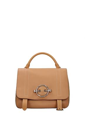Jw Anderson Handbags Women Leather Brown