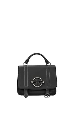 Jw Anderson Handbags Women Leather Black