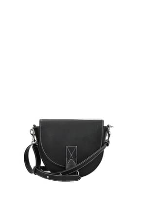 Jw Anderson Crossbody Bag Women Leather Black