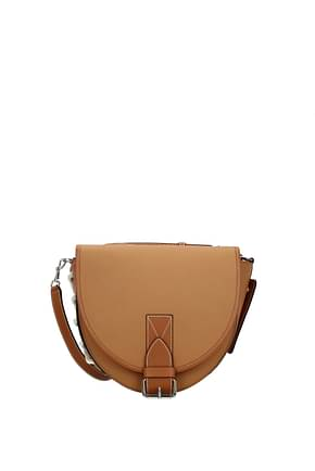 Jw Anderson Crossbody Bag bike Women Leather Brown