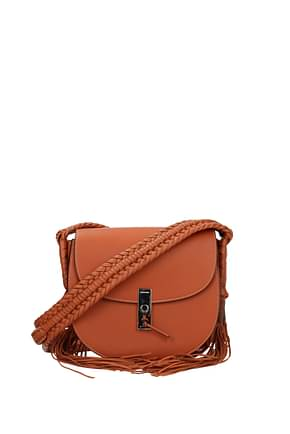 Altuzarra Crossbody Bag Women Leather Orange