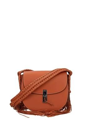 Altuzarra Crossbody Bag Women Leather Orange