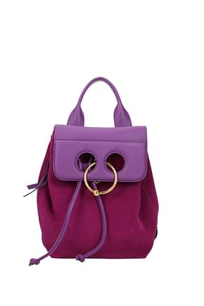 Jw Anderson Backpacks and bumbags Women Suede Violet
